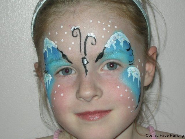 30 best images about schmink frozen on pinterest for Frozen face paint