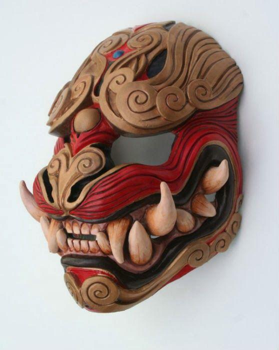 demon oni mask