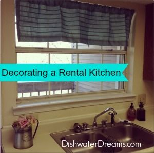Rental Decorating – The Kitchen