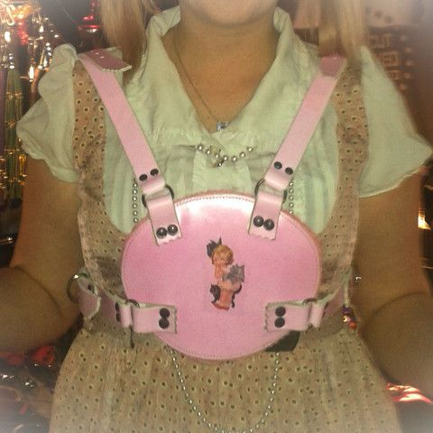 SubSpace Leathers  Baby Harness  Adult Baby AB Fetish