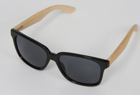 Magentic Vision - Magnetic Vision Bamboo Sunglasses - Eco Black