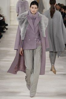 Ralph Lauren 2014/15 -- beautiful combination of lilac and grey