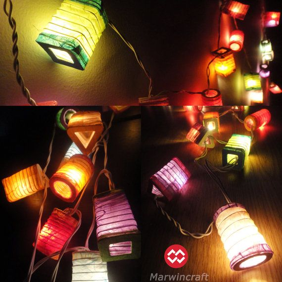 20,35 Chinese Lamp Mix Design Paper Lantern Fairy String Lights Patio Party Wall Floor Wedding Home Decor on Etsy, 9,45 €