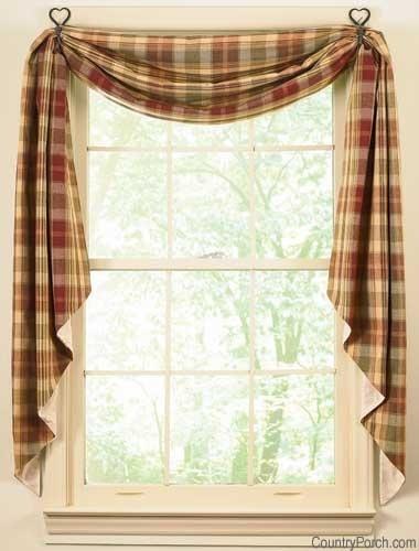 32 Best Colonial Curtains Images On Pinterest Primitive