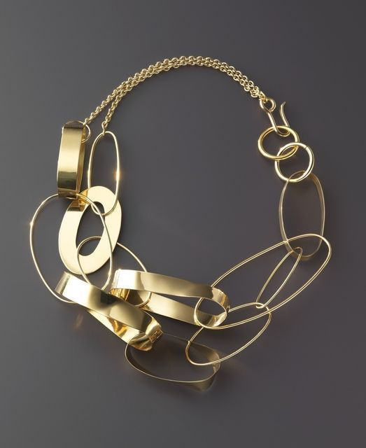 Necklace | Taher Chemirik.  18k gold: Africans Design, Chao Fairies, Taher Chemirik, Contemporary Africans, Chemirik Jewelry, Gold Necklaces, Necklaces Close, Chains Choker, Design Accessories