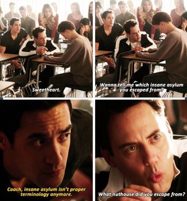 I've been waiting for this! One of my favorite Teen Wolf scenes of all time. Gotta love coach!