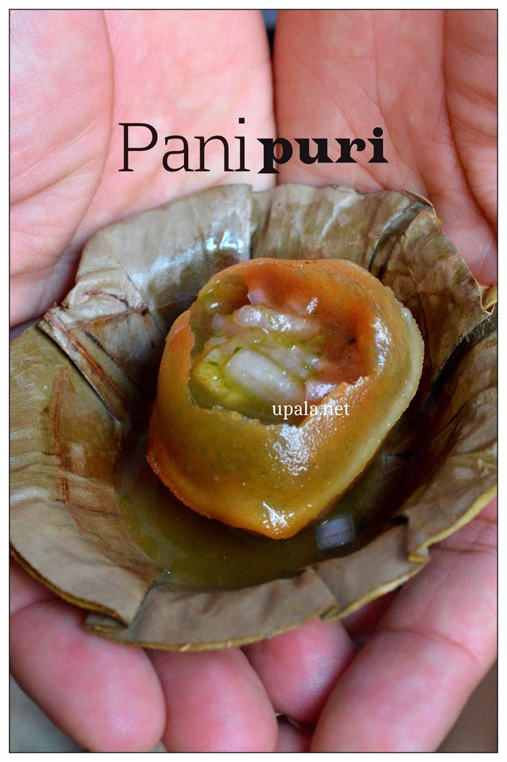 Pani puri http://www.upala.net/2015/05/panipuri.html