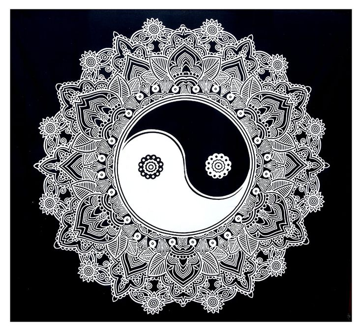 Black and White Tapestry Indian Wall Hanging Psychedelic Tapestry 92' X 86' Shubhangie *** Check out this great product. (This is an affiliate link and I receive a commission for the sales)