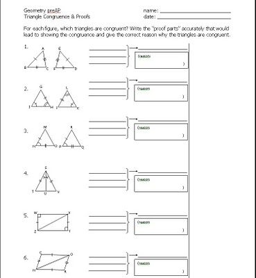 triangle proofs worksheet with answers quiz worksheet two column proofs in geometry study easy. Black Bedroom Furniture Sets. Home Design Ideas