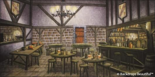 Tavern Interior Backdrops Tavern Medieval In 2019