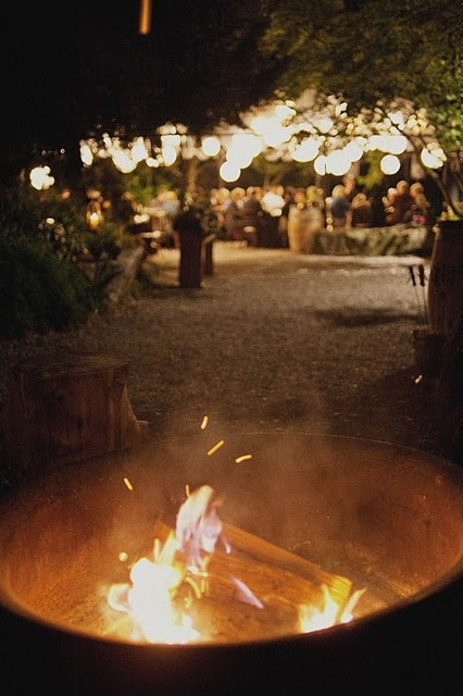 bonfire reception... so far i want to get married at edgefield mcmenamin's, oregon.