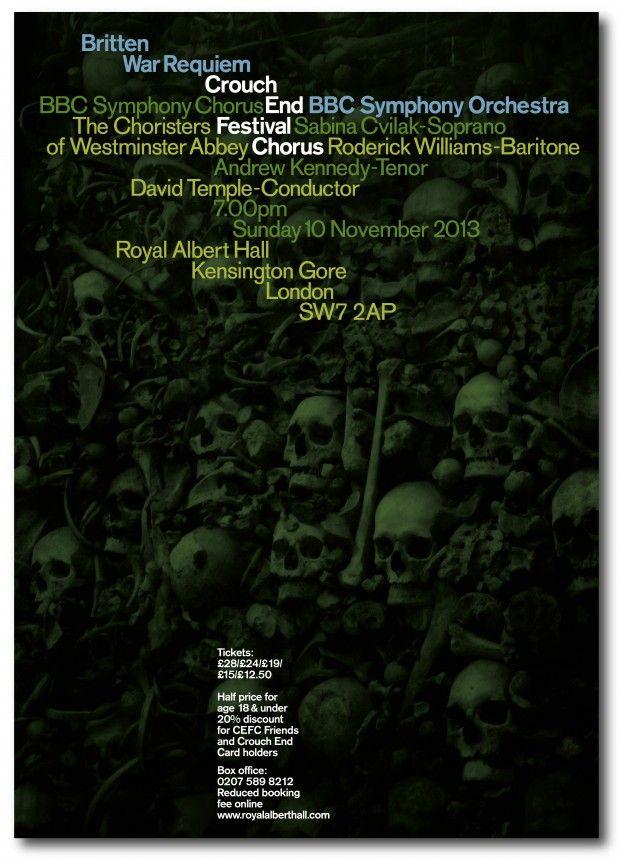 Pentagram's identity for the Crouch End Festival Chorus