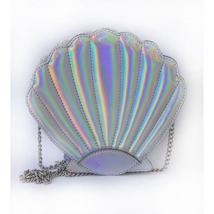 Bolsa Mermaid Shell Holografica