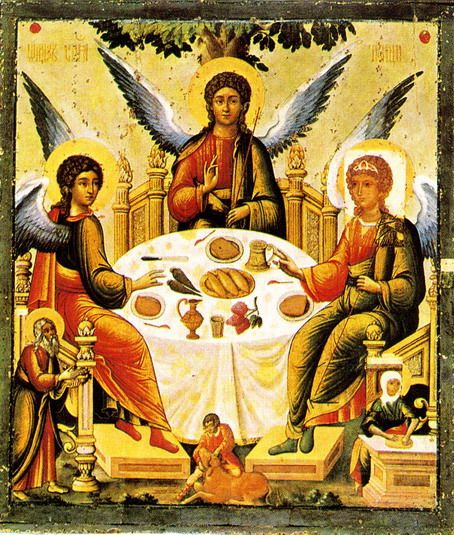 Religious Art: 47 Best Icons Of The Holy Trinity Images On Pinterest