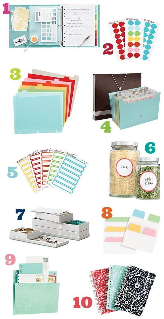 Brilliant Get Organized  Great Home Office Space Organization Products