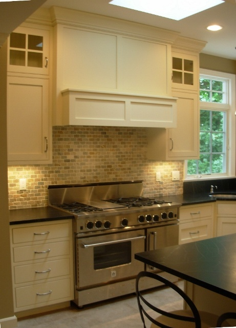 Gray Matters Kitchen Cabinet Base And White Uppers