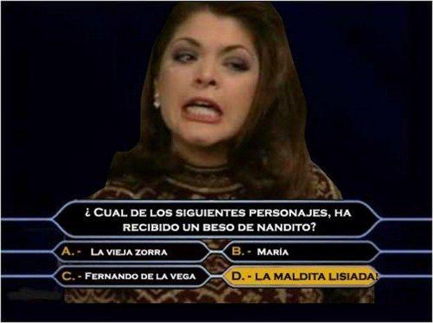 Versión Quiz Show. | Los 16 mejores memes de Soraya Montenegro