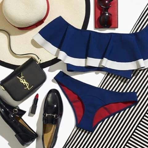 11 roupas para usar pra a maior   praia Hot Spot na Costa leste.