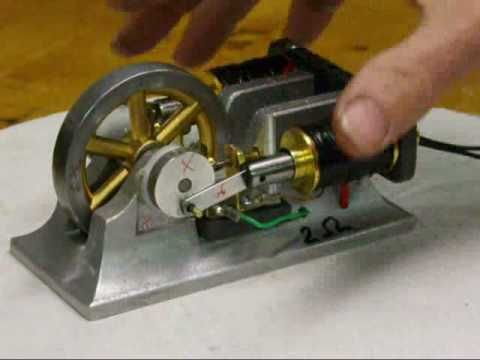Double Solenoid Electric Engine Motor Tubalcain R Info Pinterest Motors Electric And Watches