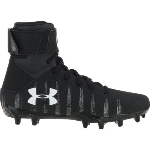 Under Armour Boys' C1N MC JR Football Cleats (Black, Size 5.5) - Youth Football Shoes at Academy Sports