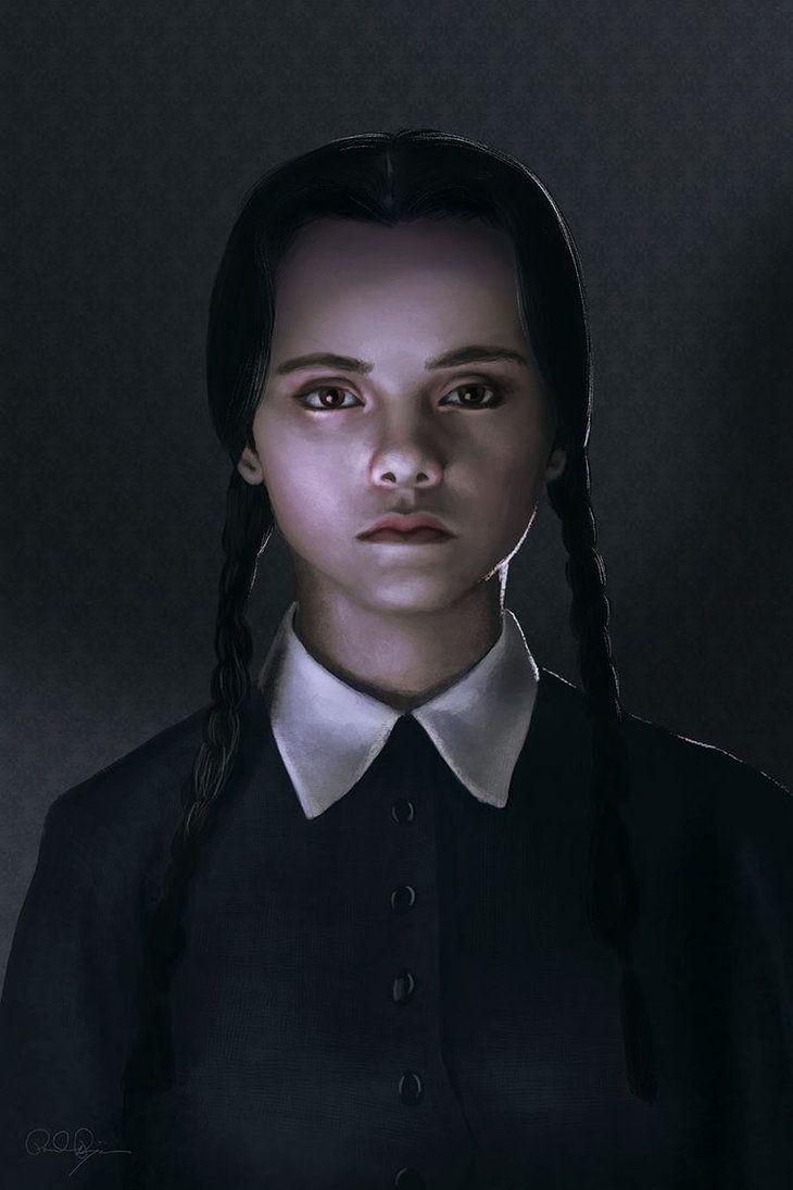 "midnightmurdershow: "" Wednesday Addams by mafaka """