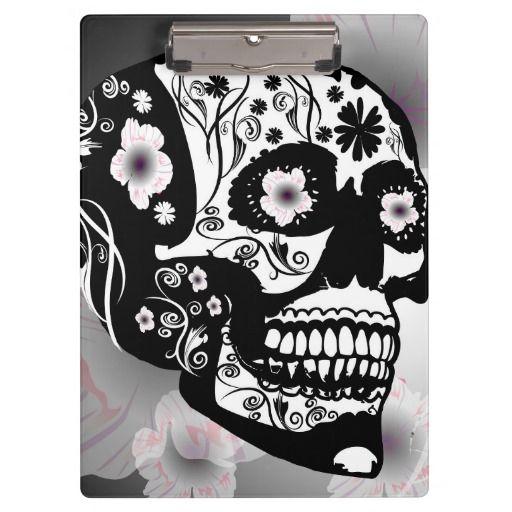Skull, #Clipboard