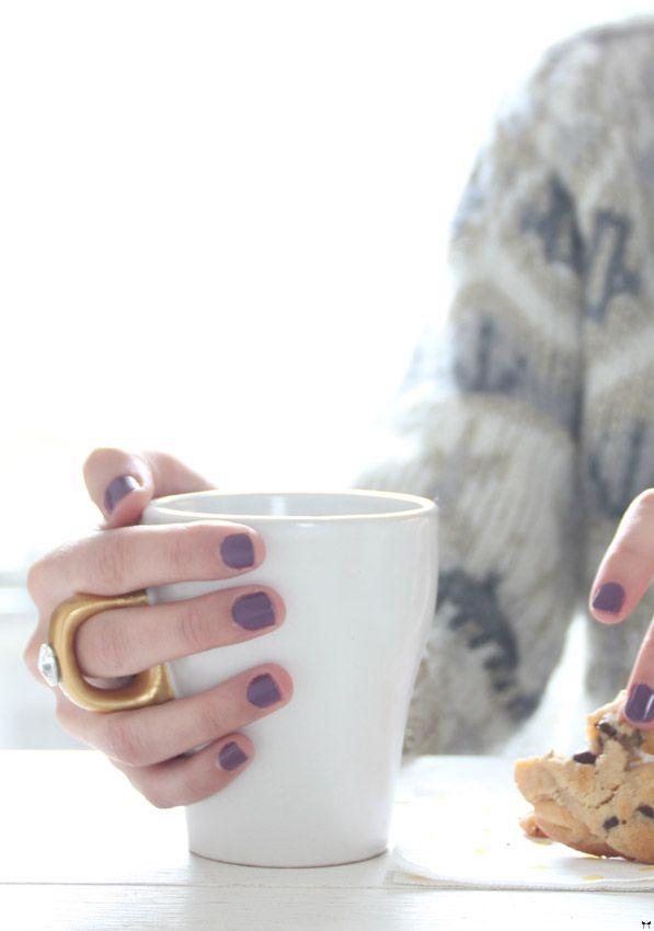 Une touche de rose: blog mode, DIY, cuisine, beauté: Le mug 100% girly :: DIY