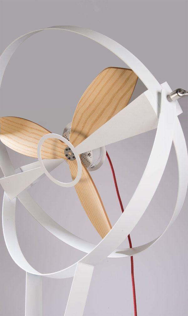 Coup de cœur : un ventilateur minimaliste par Marco Gallegos