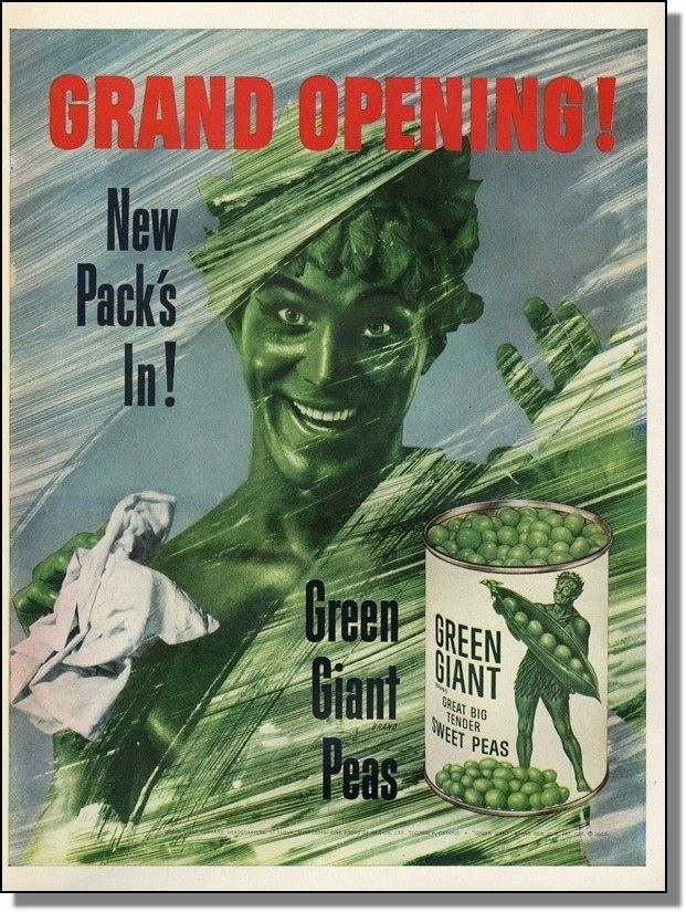 BuzzFeed explores why The Jolly Green Giant is the scariest mascot in advertising history.