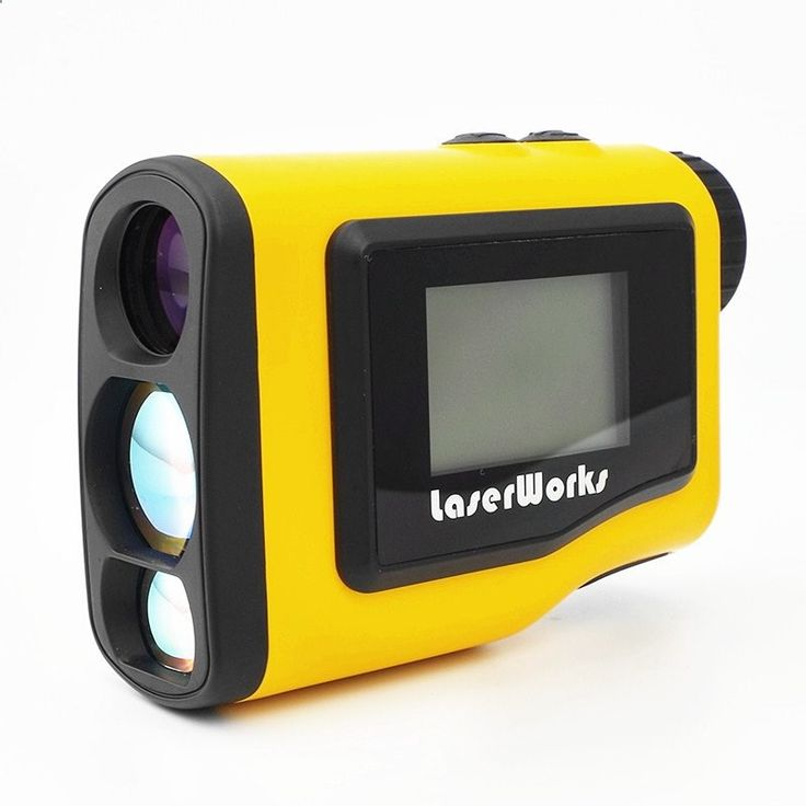 Golf rangefinder 600m handheld LCD display scope hunting laser rangefinder measurement range monocular waterproof 3 colors