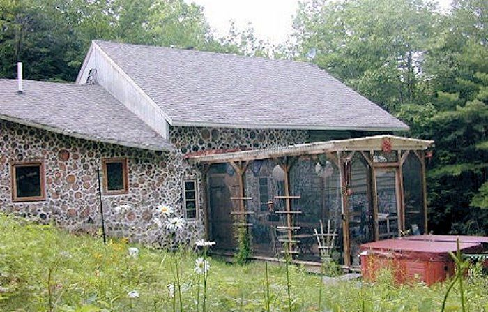Magical cottage in our enchanted forest cordwood masonry for Cottage construction plans