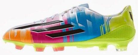 Así son las nuevas botas de Messi