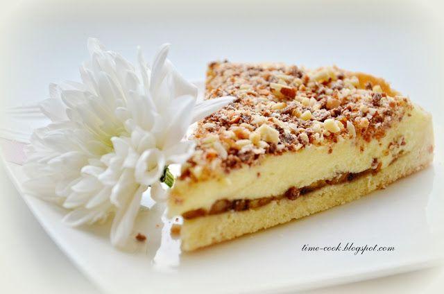Мастерская на кухне: Песочный тортик с заварным кремом и бананом