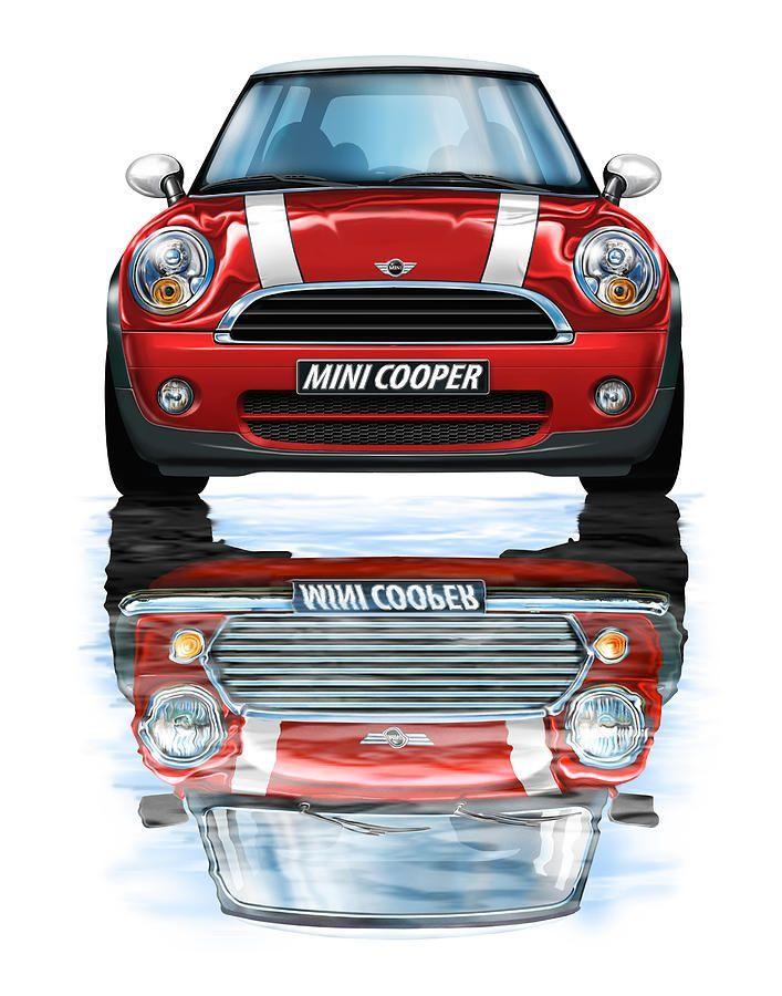 Neuer Bmw Mini Cooper Red Von David Kyte Bmw Cooper David Kyte Mini Neuer Red Von Mini Cooper Clubman Mini Cooper Cabriolet Mini Cooper S