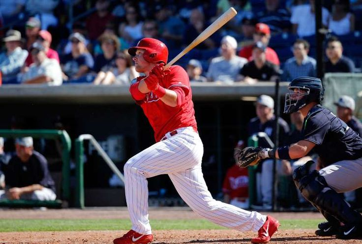 BEST TRIPLE-A MINOR LEAGUER: RHYS HOSKINS, PHILLIES  -   Hoskins continues to emerge as one of baseball's truly elite hitting prospects. After hitting .281-38-116 with a .943 OPS at Double-A Reading last year, Hoskins is hitting .292-20-66 with a .968 OPS at Triple-A Lehigh Valley this season. Tommy Joseph has shown flashes at the MLB level, but Hoskins is clearly the team's first baseman of the future.   -  MLB midseason awards  -  July 7, 2017