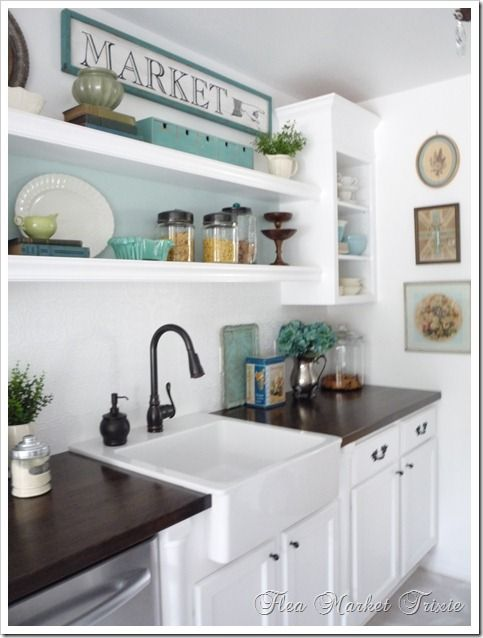 Going To Use This Sign Idea On A Framed Print I Already Have. Dream KitchensTeal  Diy KitchensWhite ...