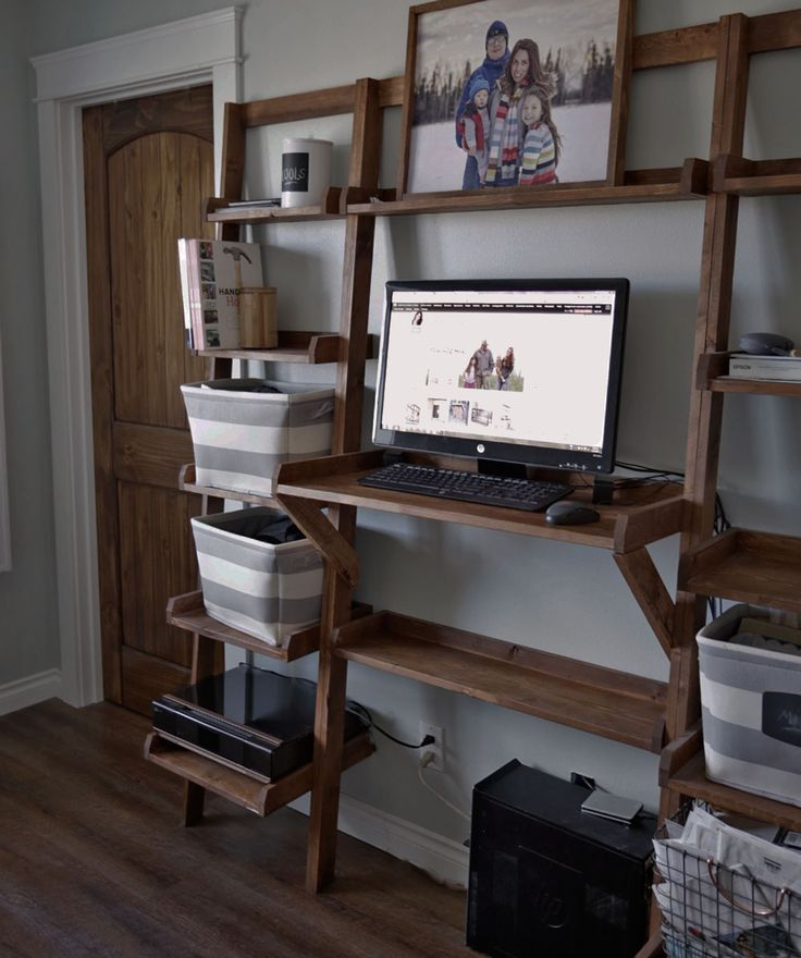 Ana White | Leaning Standing Desk - DIY Projects