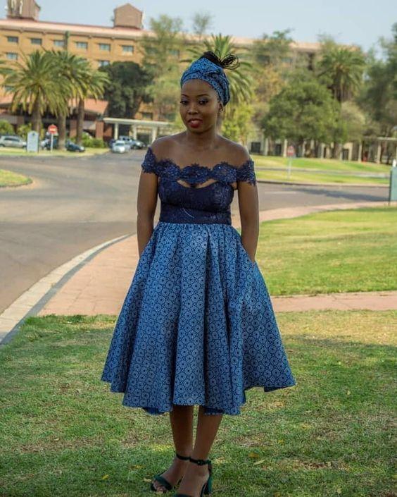 Summer Traditional Seshoeshoe Dresses 2019