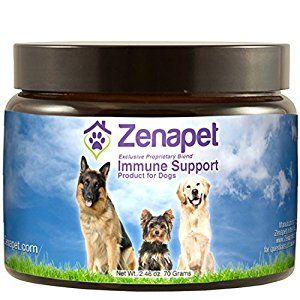 ALL NATURAL INGREDIENTS - Zenapet Dog Immune Support is designed to help your pet stay healthy. Formulated with ancient and modern ingredients (Turkey Tail Mushroom Powder, Beta -Glucan, Spirulina, Resveratrol) known to support the immune system and providing natural occurring food form vitamins ranging from Vitamin B-1, B-2, B-6 to A,C, D, and E. It also helps your dog fight off pathogens and toxins.