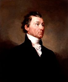 (artist-Samuel F. B. Morse) - James Monroe was our 5th President of our United States of America, serving from March 04, 1817 to March 04, 1825.