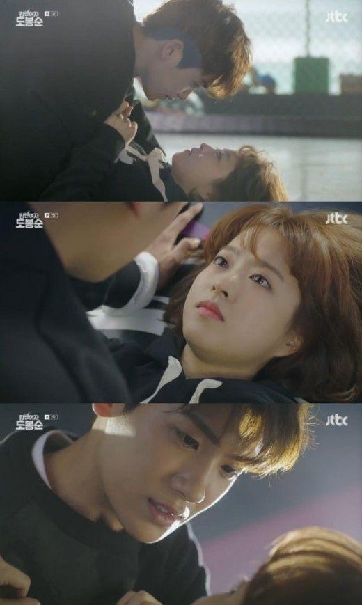 ※この記事にはドラマのストーリーに関する内容が含まれています。「力の強い女ト・ボンスン」パク・ボヨン、ZE:A ヒョンシクの雰囲気が変わり始めた。韓国で17日に放送されたJTBC金土ドラマ「力の強い… - 韓流・韓国芸能ニュースはKstyle