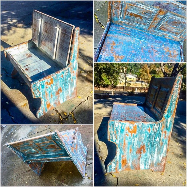 Shabby Chic Storage Bench, french country, blue, chippy paint bench, vintage, farmhouse style, country cottage, opening, antique bench seat by ReincarnatedwithLove on Etsy https://www.etsy.com/listing/256069554/shabby-chic-storage-bench-french-country