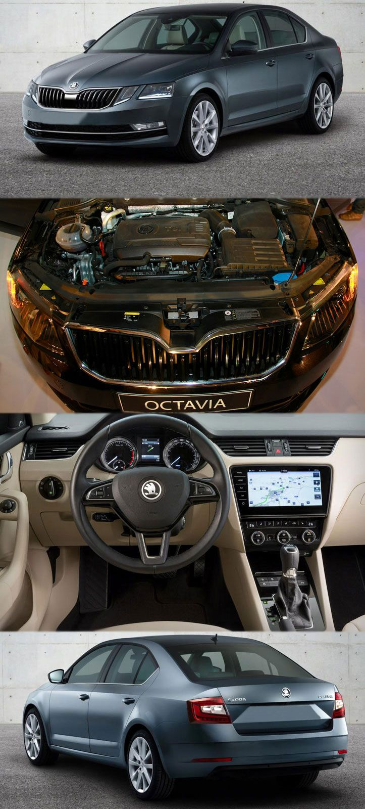 SKODA OCTAVIA BORROWS SOME STYLE FROM THE KODIAQ More Details at: https://www.dieselenginerus.co.uk/blog/skoda-octavia-borrows-style-kodiaq/