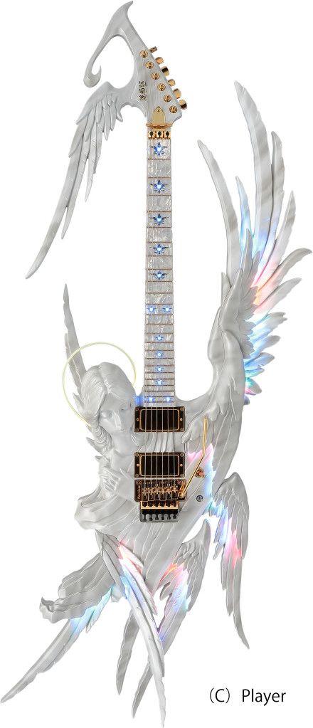 """高見沢さんにとってギターとは何ですか?  高見沢さん「友達でありパートナーであり……""""夢"""" だね。自分の中での1つの夢の形。そういった夢をステージでいろんな人に見せてあげたい。だから、エンジェルギターとか変な形のギターとかもいっぱい使うけど、『ギターがこんな形してるんだ!』みたいなワクワク感も味わってほしいな」"""