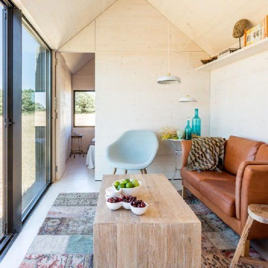 APH80 is a tiny 300 square feet home that is completely portable, and was built by the team at Abaton Studio.