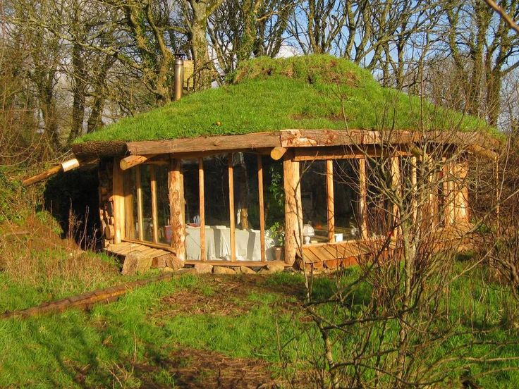 Yurt with living roof!!   I remember our times in the Yurt...