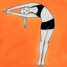 Несложные упражнения из йоги для укрепления мышц и похудения
