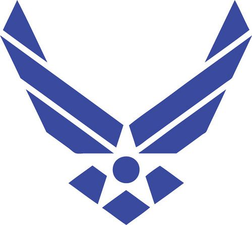 Air Force | The Craft Chop  free svg file  for cricut and silhouette