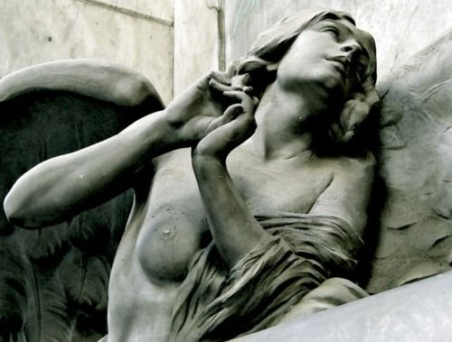 Beautiful Sculptures at the Staglieno Cemetary in Italy