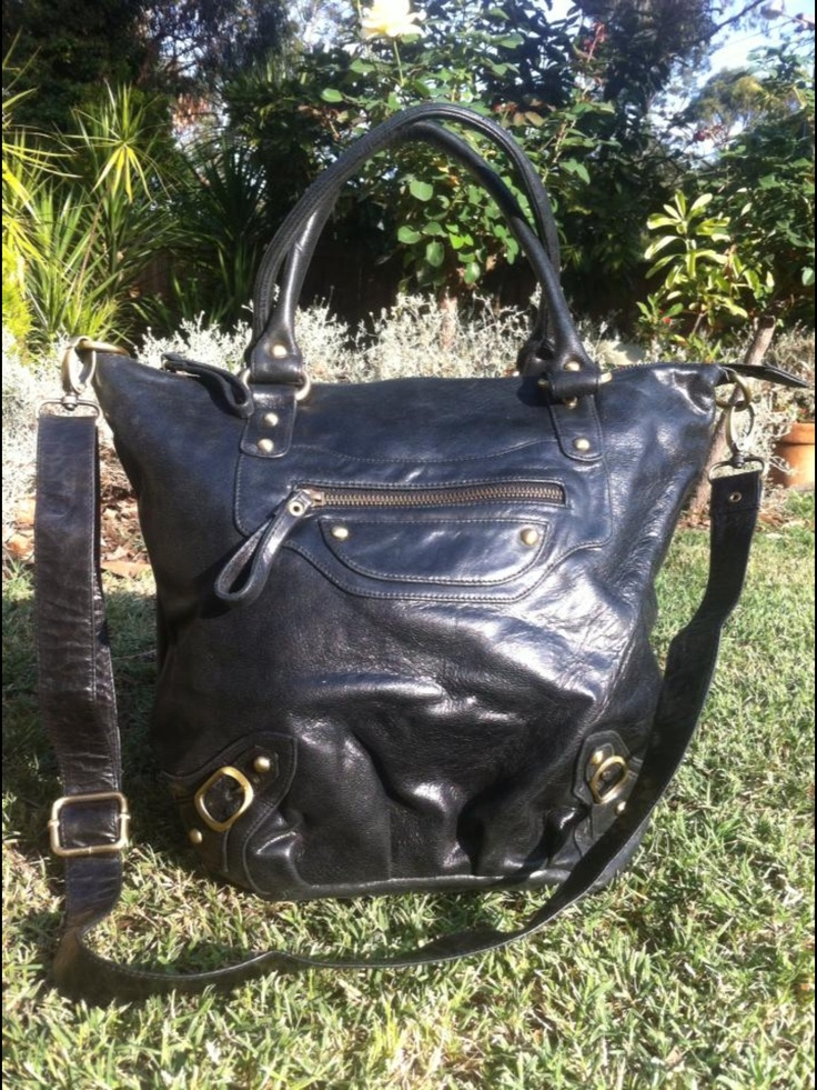 B L A K E Ink Black Antique Leather Available Soon WWW.IMPERIALHYDE.COM.AU